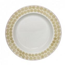 Assiette a soupe Susie - Bloomingville - Fleurs citrons - 25cm