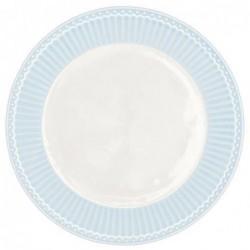 Assiette - Greengate - Alice bleue