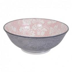 Bol à nouilles - Tokyo Design - Sakura pink grey