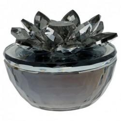 Boite à bijoux - Fleur cristal - Greengate - Noire