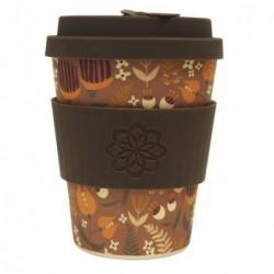 Travel Mug - Ecoffee cup - Tiny Garden - Darwin - 340 ml