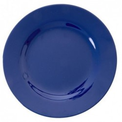 Assiette à dessert - Mélamine - Rice - Navy blue