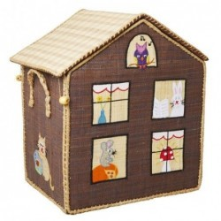Maison Range jouet - Rice - La ferme - Moyen Modèle