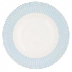 Assiette creuse - Greengate - Alice bleue