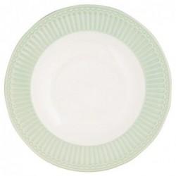 Assiette creuse - Greengate - Alice verte