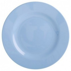 Assiette à dessert - Mélamine - Rice - Pigeon Blue