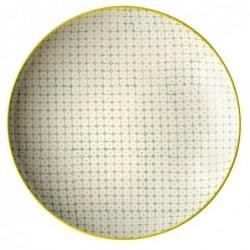 Assiette Pattern - Bloomingville - Verte - 20cm