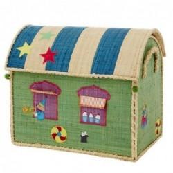 Maison Range jouets - Rice - Circus - Petit modèle