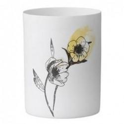 Photophore - Bloomingville - fleurs jaunes