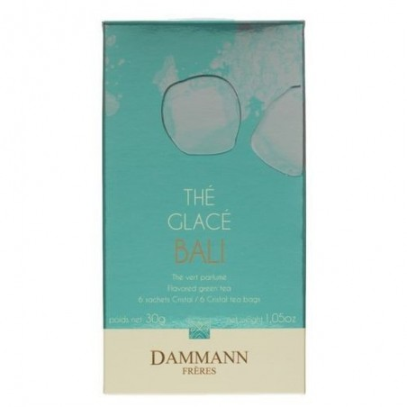 Boite 6 sachets - Thé vert glacé - Bali - Dammann Frères