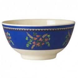 Bol Mélamine - Rice - Blue Flower Print
