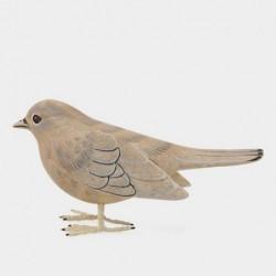 Oiseau sculpté en bois - East of India - Pinson