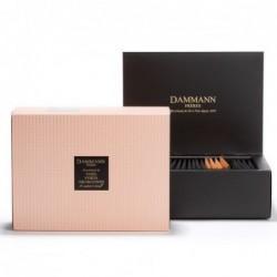 Coffret de 20 sachets de thés verts aromatisés - Dammann Frères - Quartz