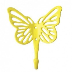 Patère Papillon - Rice - Jaune