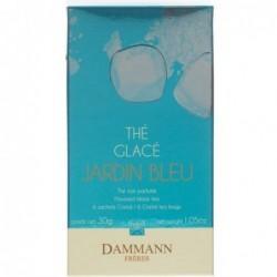 Boite 6 sachets - Thé noir glacé - Jardin Bleu - Dammann Frères