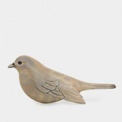 Oiseau sculpté en bois - East of India - Miel