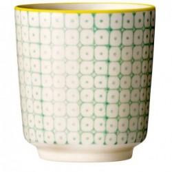 Latte cup  Pattern - Bloomingville - Vert