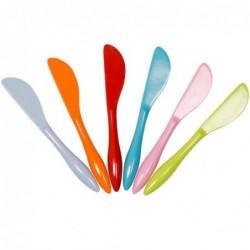 6 couteaux à beurre en Mélamine - Rice - Bright Colors
