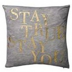 Coussin Or - Bloomingville - Stay True stay you