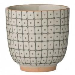 Latte cup - Bloomingville - Grey Orange