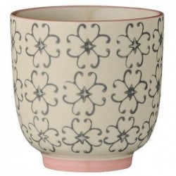 Latte cup Cecile - Bloomingville - gris