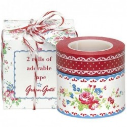 Masking tape - Greengate - Agnes White- 2 rouleaux