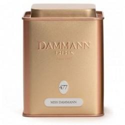Boite Dammann Frères n°477 Miss Dammann - thé vert 100g
