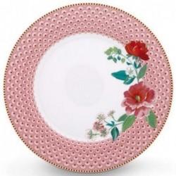 Assiette plate - Floral 2 rose - Pip Studio - 26.5 cm