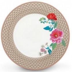 Assiette plate - Floral 2 kaki - Pip Studio - 26.5 cm