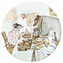 Assiette - Ernest et Célestine - Le petit déjeuner