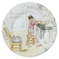 Assiette - Ernest et Célestine - Préparation du thé