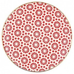 Assiette - Greengate - Kelly red