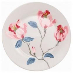 Assiette - Greengate - Magnolia white