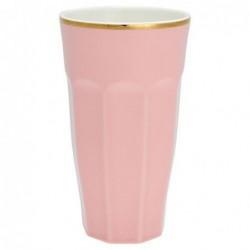 Long Mug - Greengate - Pale pink