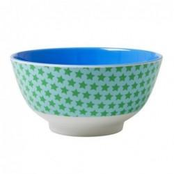 Petit bol en mélamine - Rice - Etoiles bleues