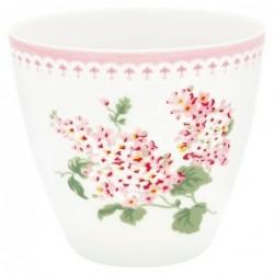 Latte cup - Greengate - Luna white