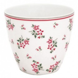 Latte cup - Greengate - Avery white