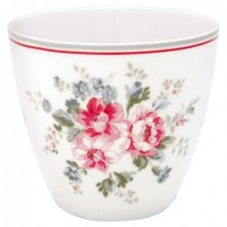 Latte cup - Greengate - Elouise white