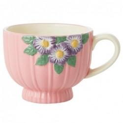 Mug en céramique - Rice - Pink Flower