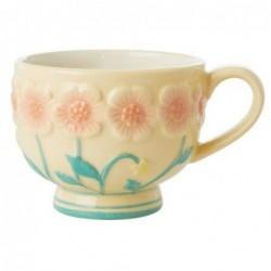 Mug en céramique - Rice - Creme Flower