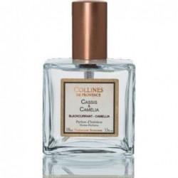 Parfum d'intérieur en spray - Cassis & Camélia - Collines de Provence - 100ml