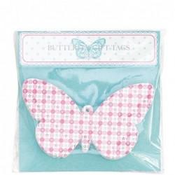Etiquettes à cadeaux papillons - Greengate