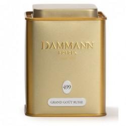 Boite Dammann Frères n°499 Grand Goût russe - thé  noir 100g