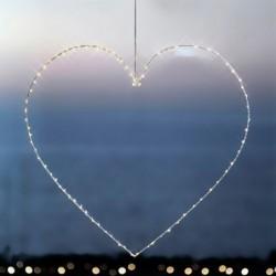 Coeur lumineuse LED - Sirius - Liva - 80 LED