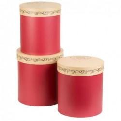 Lot de 3 boites cartonnées - Comptoir de Famille - Secret de Famille