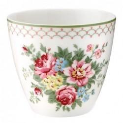 Latte cup - Greengate - Aurélia white