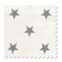 Tissu Greengate - Star pale grey