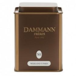 Boite Dammann Frères n°501 Weekend à Paris - thé  Oolong 100g