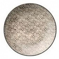 Assiette Isabella - Bloomingville - Grise - 20cm