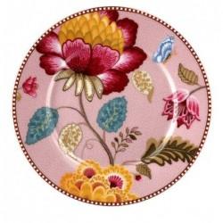 Assiette à dessert Fantasy bloom rose - Pip Studio - 17cm